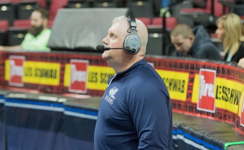 Storm Head Coach Ron James